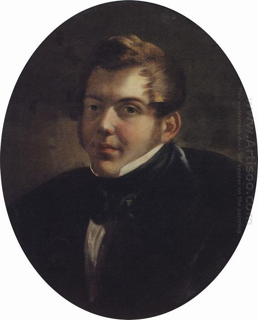 Portrait Of An Architect M O Lopyrevskiy