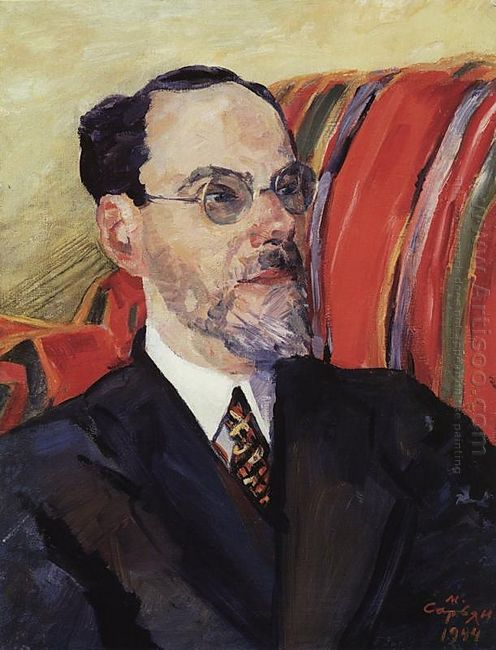 Portrait Of An Art Critic Abram Efros 1944