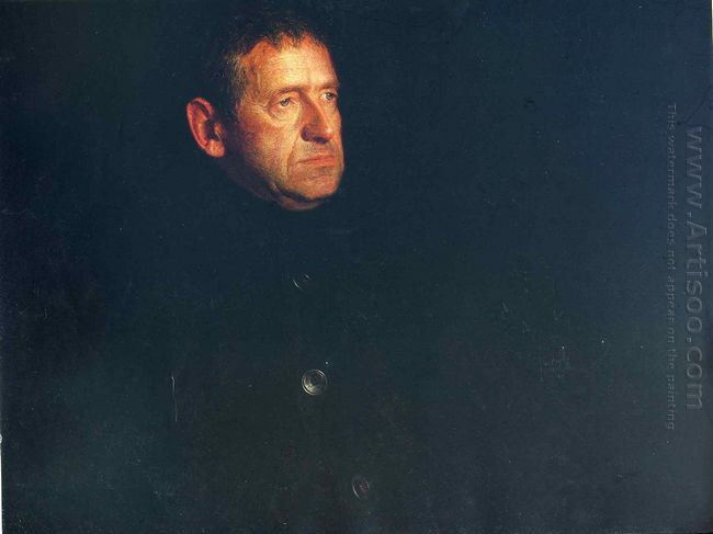 Portrait Of Andrew Wyeth 1969