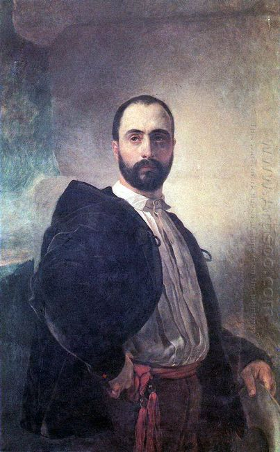 Portrait Of Angelo Tittoni 1852
