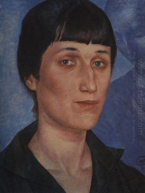 Portrait Of Anna Akhmatova 1922