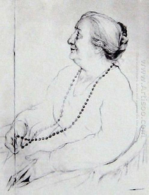 Portrait Of Anna Akhmatova