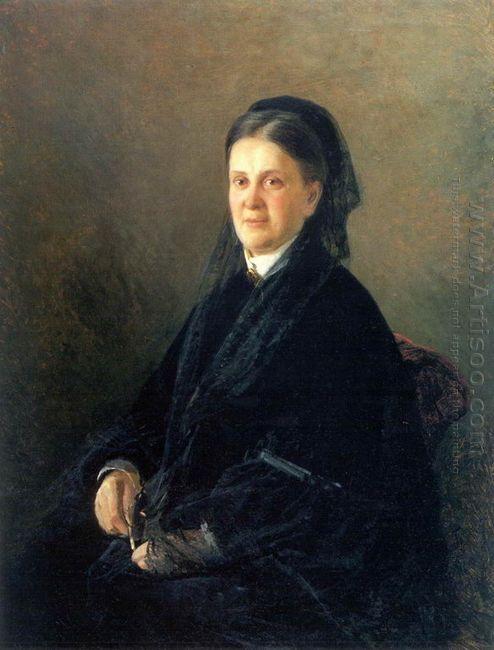 Portrait Of Anna Olsufyeva