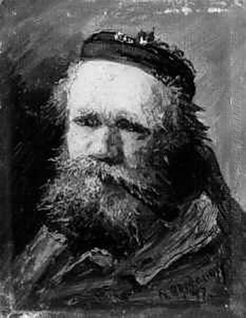 Portrait Of An Old Bearded Man