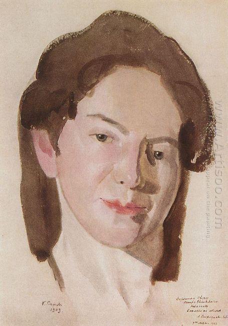Portrait Of A Ostroumova Lebedeva