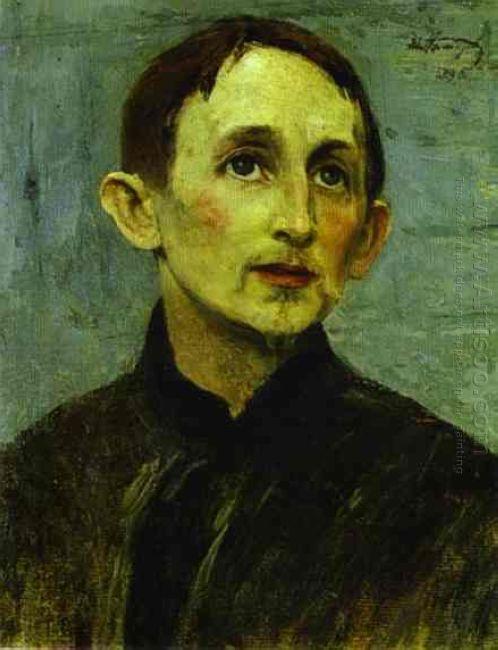 Portrait Of Apollinary Vasnetsov