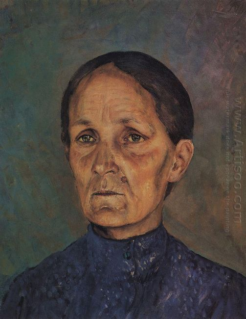Portrait Of A P Petrovoy Vodkin Artist S Mother 1909