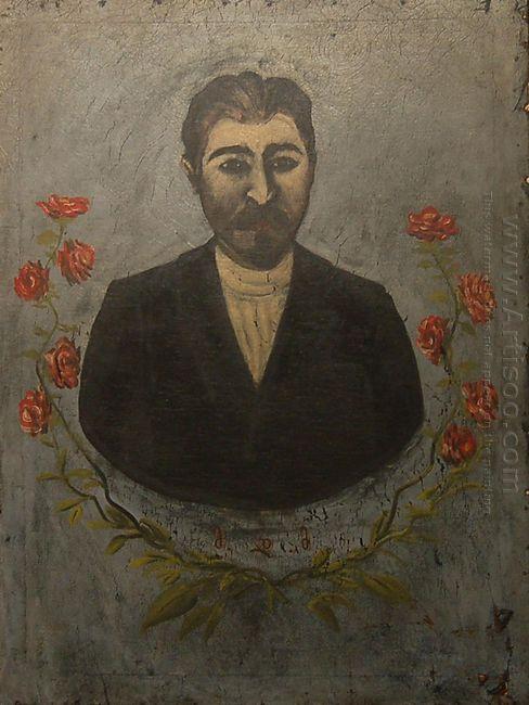 Portrait Of A Railway Worker Misha Meheteli