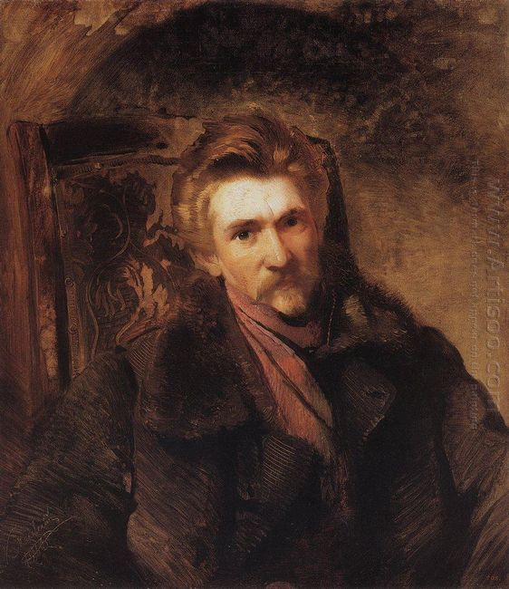 Portrait Of Artist Alexander Popov 1