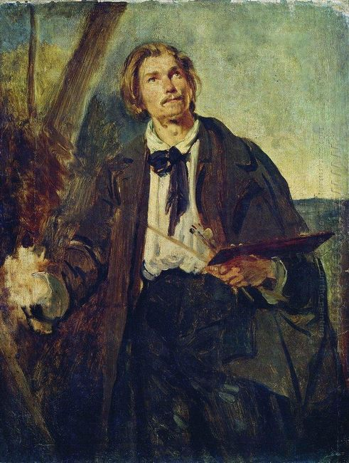 Portrait Of Artist Alexander Popov