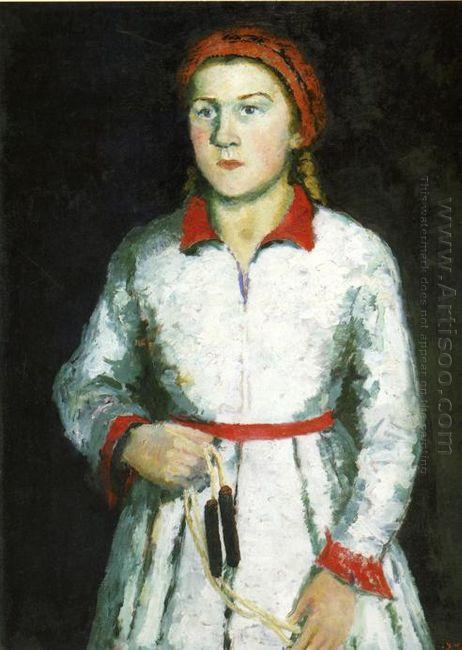 Portrait Of Artist S Daughter 1934