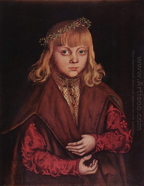Portrait Of A Saxon Prince 1