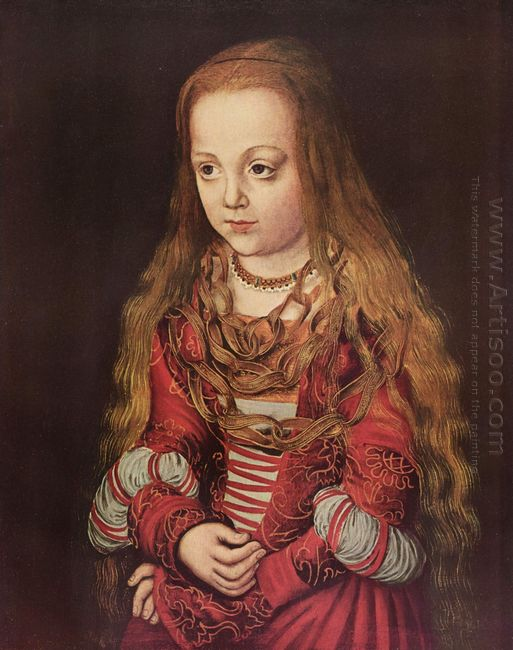 Portrait Of A Saxon Princess 1517