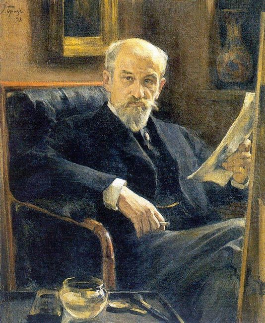 Portrait Of A Somov