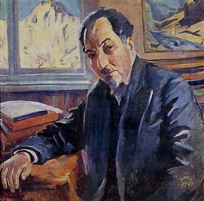 Portrait Of Avetik Isahakyan 1940