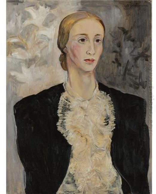 Portrait Of A Woman Tatiana Ryabushinskaya