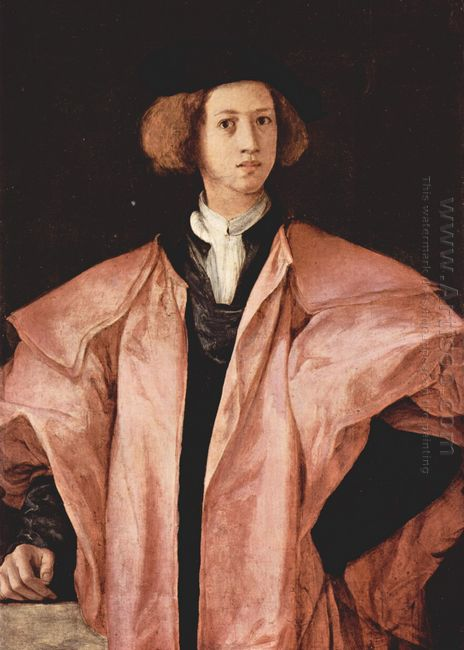 Portrait Of A Young Man Alessandro De Medici
