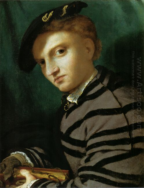 Portrait Of A Young Man With A Book 1527