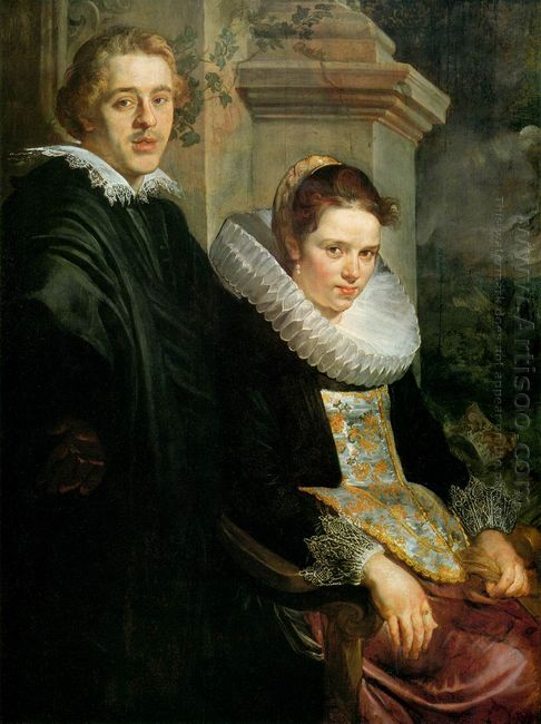 Portrait Of A Young Married Couple 1620