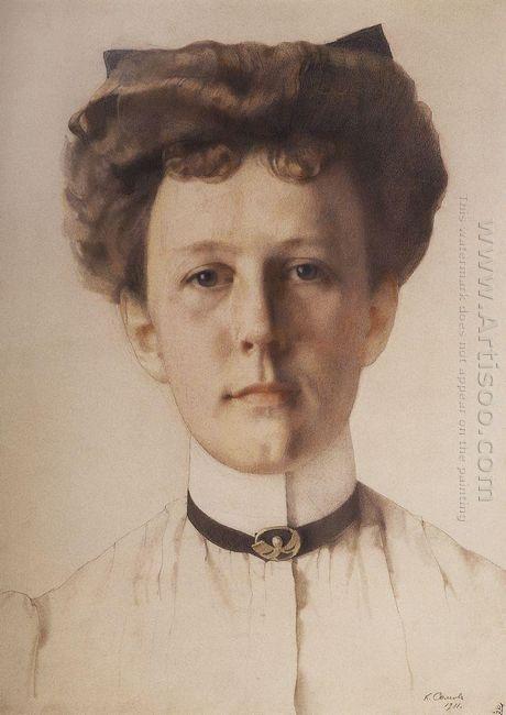 Portrait Of Baroness Alexandra Nolde