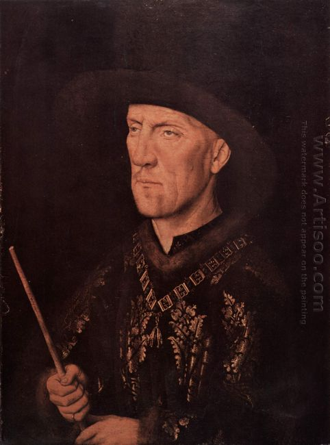 Portrait Of Baudouin De Lannoy 1435