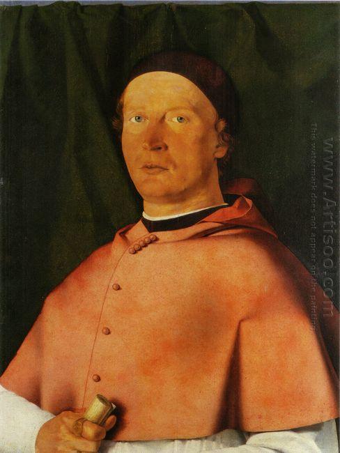 Portrait Of Bishop Bernardo De Rossi 1505