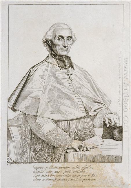 Portrait Of Bishop Persigny