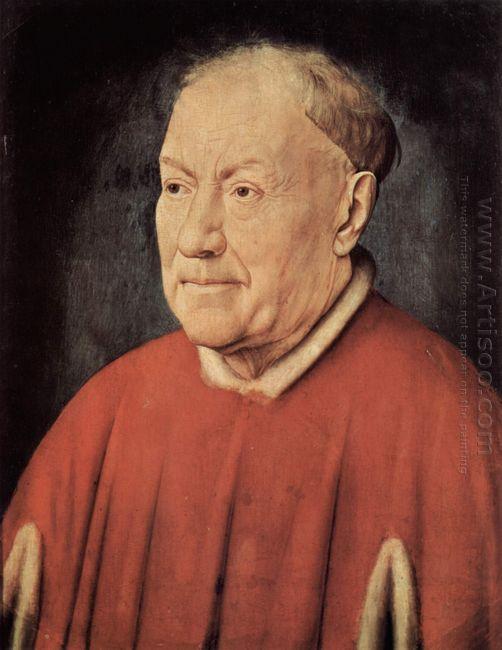 Portrait Of Cardinal Albergati