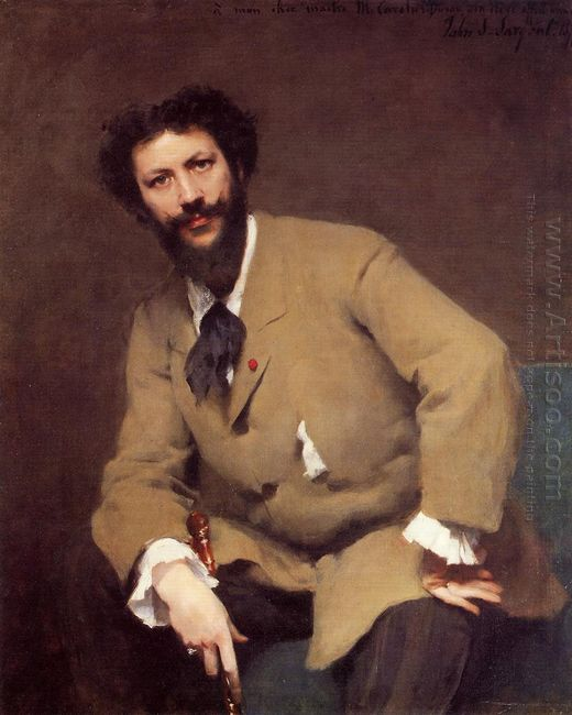 Portrait Of Carolus Duran 1879