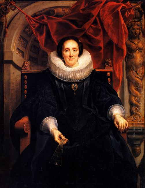 Portrait Of Catharina Behaghel 1635