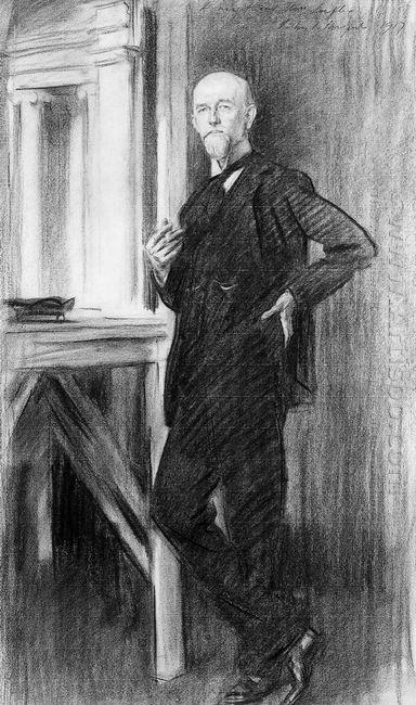 Portrait Of Charles Martin Loeffler 1917