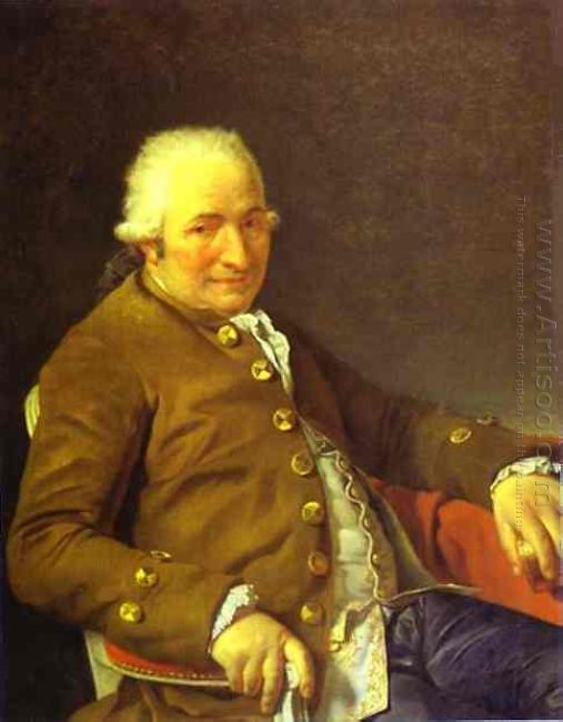 Portrait Of Charles Pierre Pecoul 1784