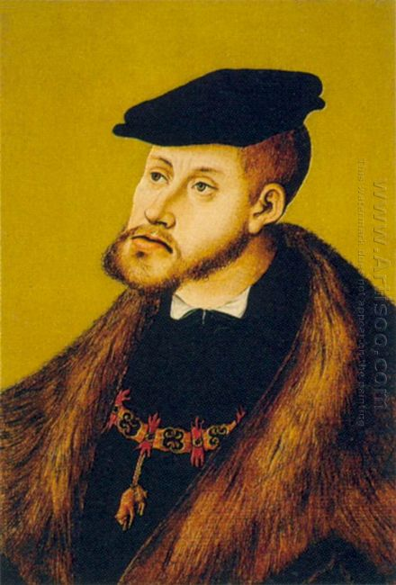 Portrait Of Charles V 1533