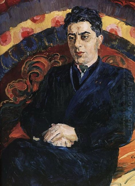 Portrait Of Composer Aram Khachaturian 1944