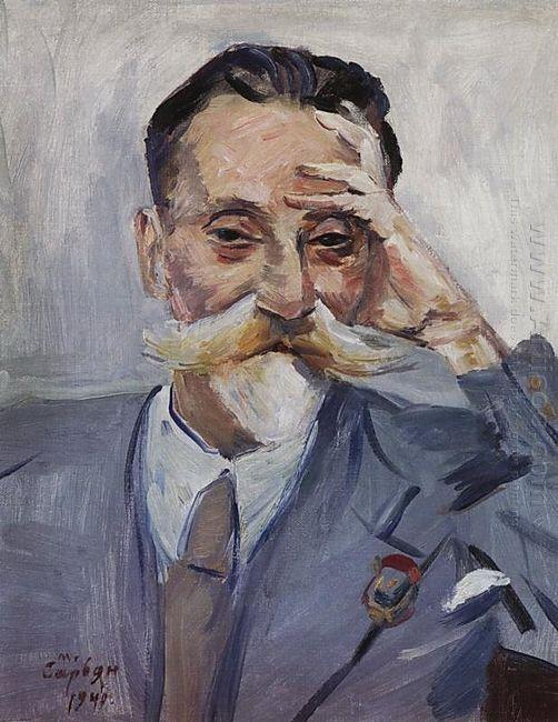 Portrait Of Conductor Constantine Sarajev 1940