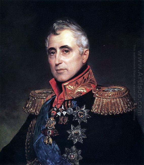 Portrait Of Count C A Pozzo Di Borgo 1835 1