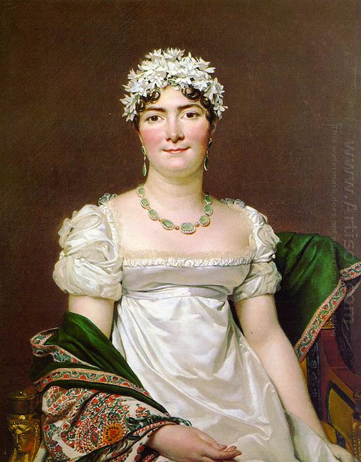 Portrait Of Countess Daru 1810