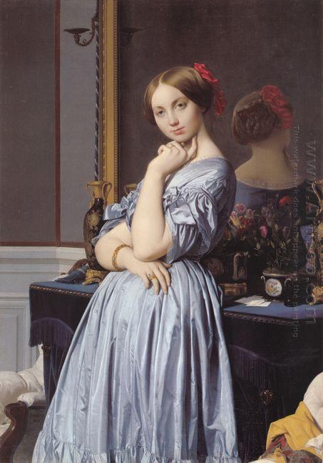Portrait Of Countess D Haussonville