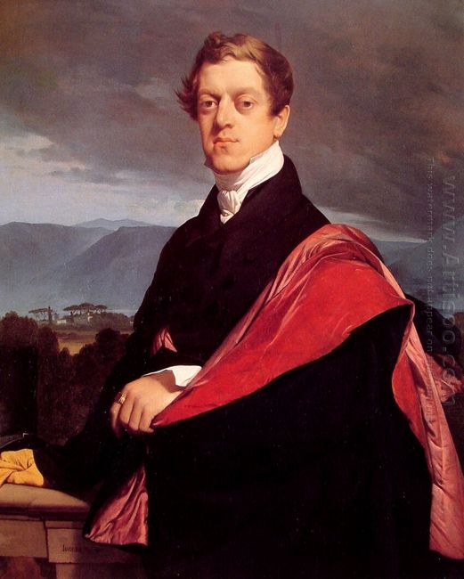 Portrait Of Count Nikolay Gouriev 1821
