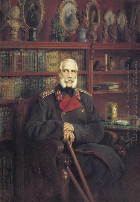 Portrait Of Count Sergei Grigoriyevich Stroganov