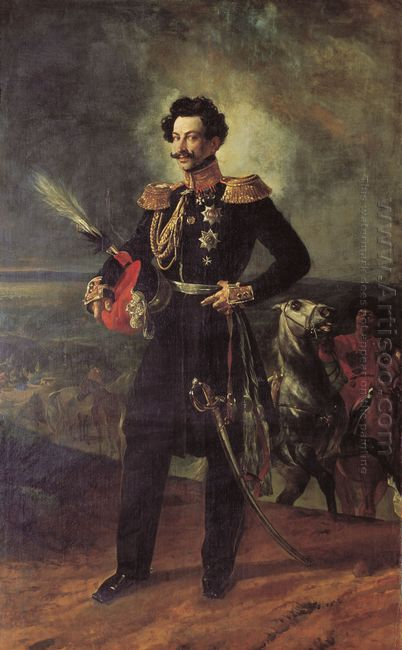 Portrait Of Count V A Perovsky