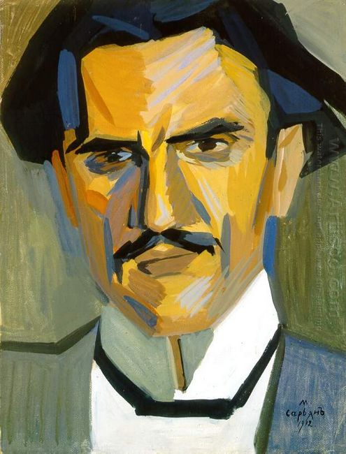 Portrait Of Critic Garegin Levonian 1912