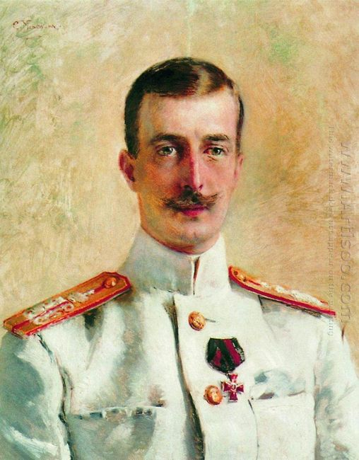 Portrait Of Cyril Vladimirovich Grand Duke Of Russia