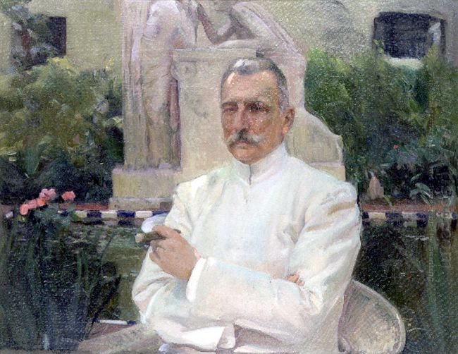 Portrait Of D Amalio Gimeno 1919