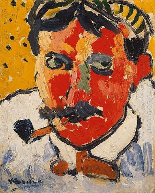 Portrait Of Derain 1905