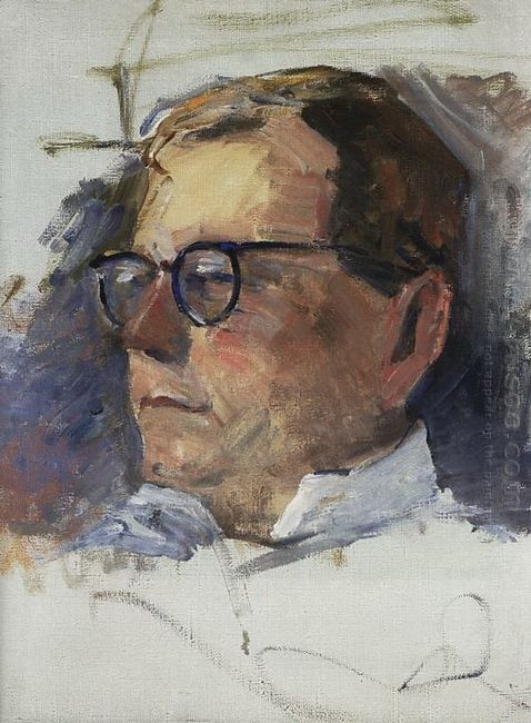 Portrait Of Dmitri Shostakovich 1963