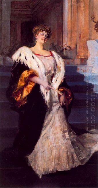 Portrait Of Dona Elena Ortuzar Blasco Ibanez