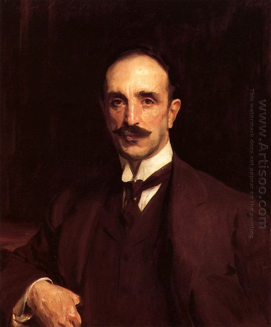 Portrait Of Douglas Vickers 1914