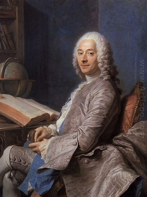 Portrait Of Duval De L Epinoy 1745