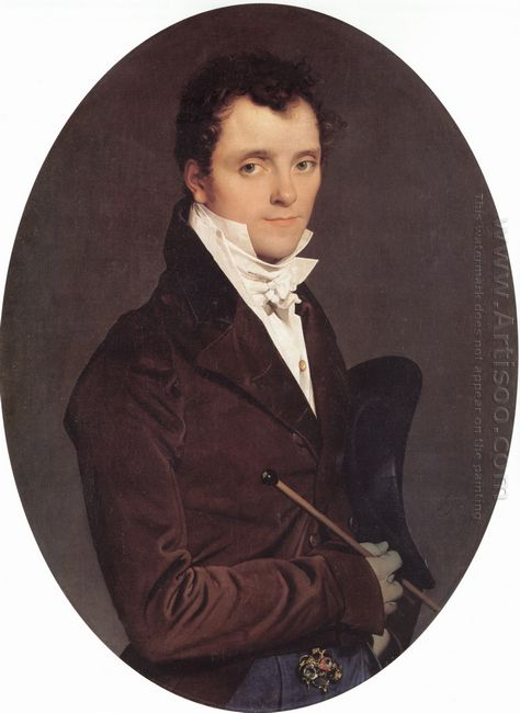 Portrait Of Edme Bochet 1811